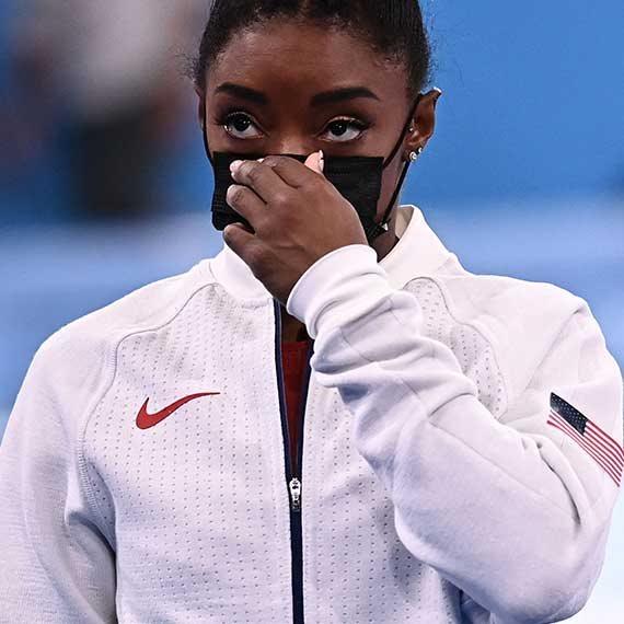 סימון ביילס באולימפיאדת טוקיו