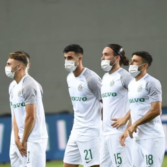במכבי חיפה מתכוננים למשחק נגד פיינורד